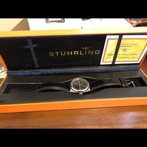 Men's Stuhrling automatic watch.  Great condition!